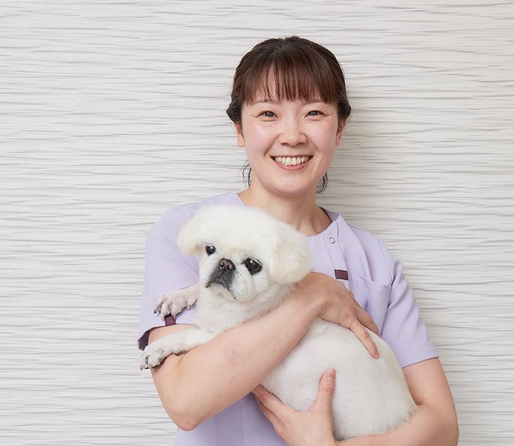 動物看護師・トリマー 神田 和美